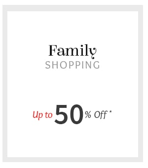 Upto 50% Off on Attires for Women, Men & Kids in prints & embroidery.Shop!