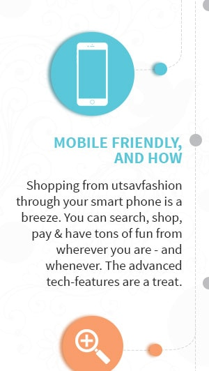 Its Fast, Its Fluid, Its Fun. Experience the all new Utsav Fashion. Go Now!